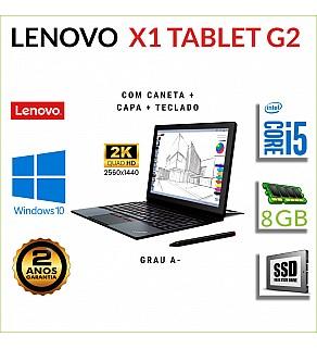 LENOVO X1 TABLET G2 12'' i5-7Y57 8GB RAM 240GB SSD COM CANETA